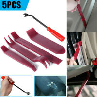 5X Car Body Moulding Door Panel Trim Clip Pry Removal Fastener Remover Kit Tool