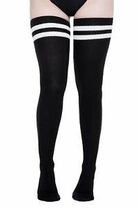 Killstar Slay It Gothic Punk Sexy Gym Long Thigh High Tube Socks KSRA001892