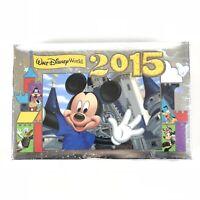 2015 Walt Disney World Land Parks Photo Album 50 Photo Sleeves 4 X 6 Mickey Mous