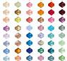 Glasperlen Strass Kristall Glasschliffperlen Beads Basteln DIY Tropfen 4mm