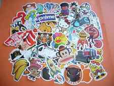 50 Random Pack Luggage Car Bike Guitar Laptop Skateboard Waterproof Stickers mac