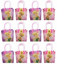 12x Disney Tinkerbell Birthday Party Favor Goody Bags Loot Bags Gift Candy Bags