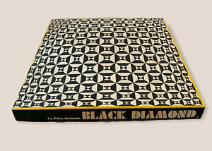 VTG BLACK DIAMOND Hard Jigsaw Puzzle Springbok 1969 MCM Edna Andrade COMPLETE