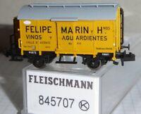 """Fleischmann 845707 Spur N Weinfasswagen """"Felipe Marin"""" NORTE RENFE Epoche 2 Neu"""