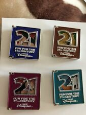 Tokyo Disney Resort Pin Tdl Fun For The 21st Century Book Set Of 4. Tdr