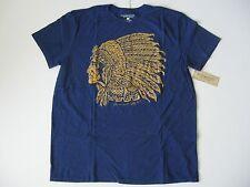 DENIM & SUPPLY RALPH LAUREN Men's Royal Indian Headdress T-Shirt S