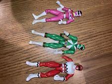 97 Pink, 98 Red, 99 Green Power Rangers Toys Bandai