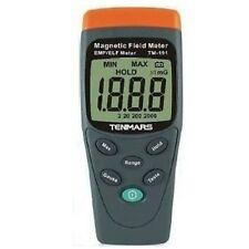 New TENMARS TM-191 Magnetic Field Meter EMF / ELF LCD Display - Free Ship