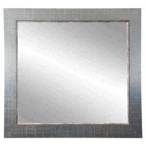 "BrandtWorks Silver Lined Square Wall Mirror, 31.5"" x 31.5"" - BM007SQ"