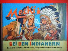 """Hör Zu: Orginalbücher """" Mecki bei den Indianern"""" 1. Auflg. Sammlerzustand ( 1- )"""