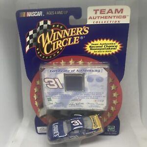 Team Authentics Winner's Circle, Mike Skinner Race Used Sheet Metal Blue