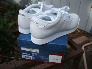 Reebok Classic Princess 1475 White Women Shoes Size 7.5 NIB