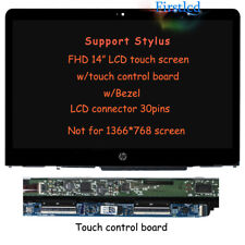 Touchscreen Control Board Fit HP Pavilion 15-P157CL JYLTK New Replacement 15.6 Touch Screen Digitizer Glass Plastic Bezel Frame