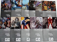 CIVIL WAR FRONT LINE 1,2,3,4,5,6,7,8,9,10,11 (1-11)...NM-...2006...Bargain!