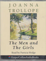 Joanna Trollope Men And The Girls 2 Cassette Audio Book Abridged Romance