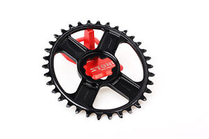 Oval Chainring Narrow Wide Direct Mount For Rotor 24 24mm Axle Crank 3DF 3D+