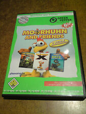 Moorhuhn and Friends-PC-CD Rom- 3 Spiele Vollversion-Green Pepper