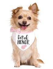 Chien de Honor Mariage Drôle Animal Accessoire Bandana