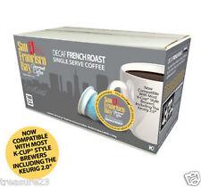 San Francisco Bay  Decaf French Roast Coffee  160 K-Cups