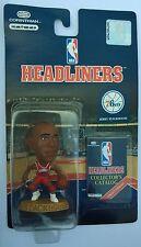 1996 NBA Jerry Stackhouse Philadelphia 76ers Red Uniform Corinthian Headliners