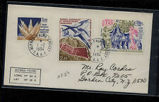 French  Antarctic   C114   on  cover  to  US             KEL0901