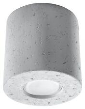 Beton Spot-Strahler ORBIS 1x GU10 Deckenleuchte Deckenlampe Einbauleuchte walze