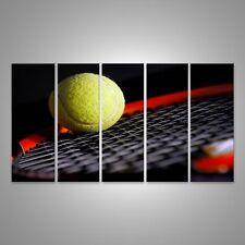 Canvas Wall Art Tennis equipment - ball and bats BQZ-5P