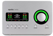 Universal Audio Apollo Solo Thunderbolt 3 Audio Interface with UAD DSP