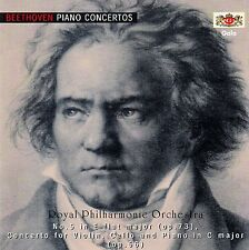 BEETHOVEN : PIANO CONCERTO NO. 5 & CONCERTO FOR VIOLIN, CELLO AND PIANO / CD