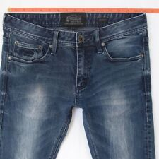 Mens SuperDry SKINNY Stretch Blue Jeans W31 L30