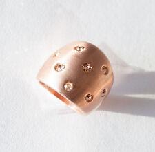 Modeschmuck-Ringe im Band-Stil mit Strass-Perlen für Damen