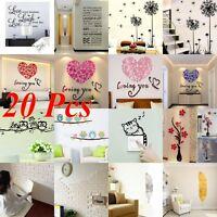Vinyle Maison Décoration Chambre Enfant Art Citation Autocollant Mural Stickers
