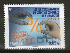 TIMBRE NEUF XX  - Loi sur l'organisation du crédit au commerce et à l'industrie