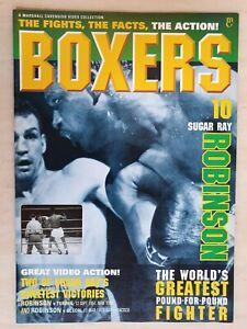 BOXERS MAGAZINE Issue 10 SUGAR RAY ROBINSON