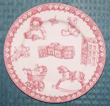 """Queen's China A Gift For A Girl 7 3/4"""" Girl Child's Plate - Excellent Condition"""