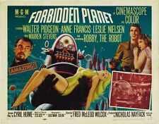 Forbidden Planet Poster 02 Metal Sign A4 12x8 Aluminium
