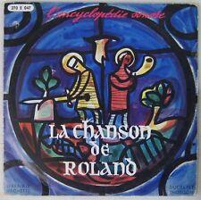 La chanson de Roland 33 tours 25 cm Jean Deschamps