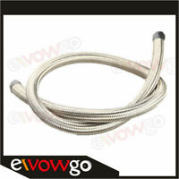 1500 PSI Stainless Steel Double Braided -8AN AN8 Oil Fuel Gas Line Hose