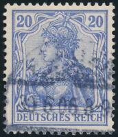 DR 1902, MiNr. 72 b, gestempelt, gepr. Jäschke-L., Mi. 100,-