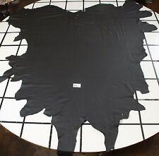 Stunning Black Graphite Automotive Leather Hides AVG 44 sqft  SALE ENDS SOON!