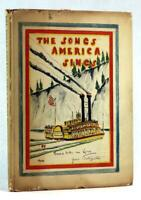 Hendrick Willem Van Loon First Edition 1939 The Songs America Sings HC w/DJ