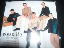 Westlife Coast To Coast Rare Australian Interview Promo CD – Like New