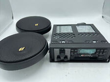 Sansui Rx-1100 Pll Synthesizer Cassette Car Receiver + Dual Cone Speaker Sb-1606