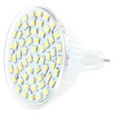 G/GU/GX5,3 MR16 3528 SMD 60 LED Lampe AMPOULE SPOT Lumiere BULB BLANC 12V 4W XK