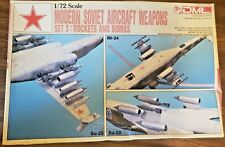 Modern Soviet Aircraft Weapons Set 3: Rockets & Bombs Dragon | No. 2506 | 1:72