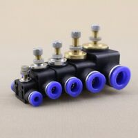 NEW 4-12mm Air Flow Speed Control Valve Tube Hose Pneumatic Push In Fittings