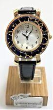 Orologio Donna blu color oro watch in Vetro di Murano