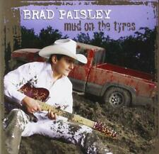 BRAD PAISLEY         -        MUD ON THE TYRES         -          NEW CD
