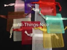 Mini Drawstring 5x6cm Gift Favours Pouch Organza Bag WHOLESALE 50