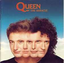 QUEEN - The miracle 13TR CD 1989 POP ROCK Freddie Mercury USA PRINT RARE!